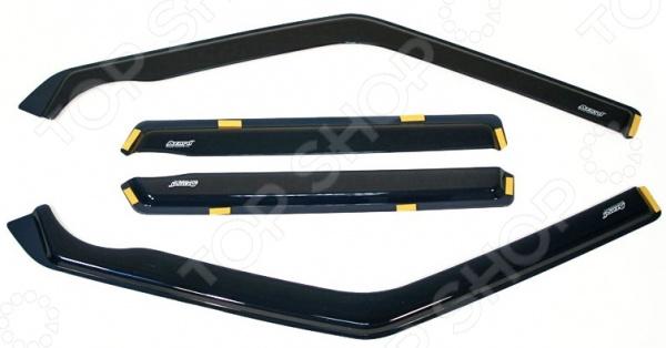 Дефлекторы окон вставные Azard LADA ВАЗ 2109-99 фаркоп avtos на ваз 2108 2109 2012 разборный тип крюка h г в н 800 50кг vaz 08