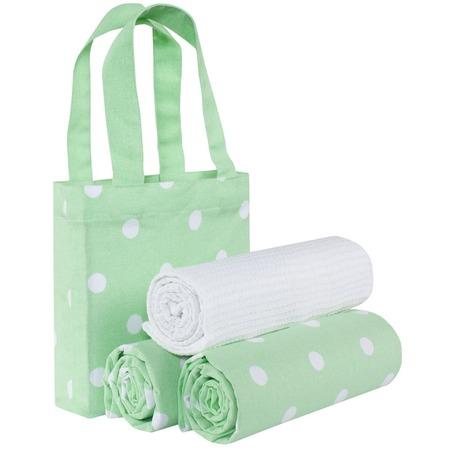 Купить Набор полотенец и сумка Guten Morgen «Горох»