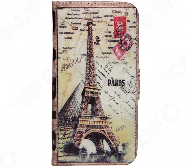 Чехол для iPhone 6 Mitya Veselkov «Книжечка-Париж» чехол для iphone 6 mitya veselkov ретро париж