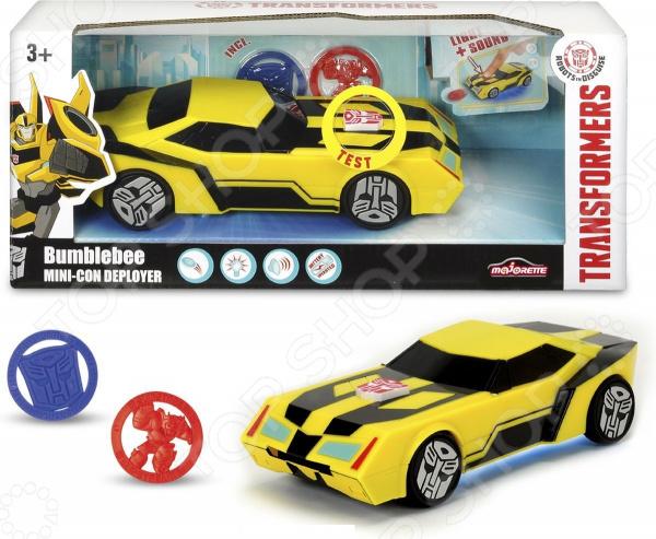 Игрушка-трансформер Dickie Bumblebee машинка трансформеры перевертыш dickie bumblebee на р у 1 16 25см