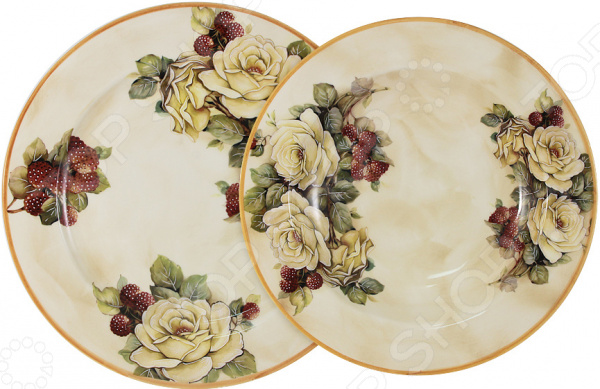 Набор столовый LCS «Роза и малина»