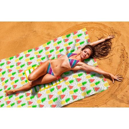 Купить Покрывало пляжное Сирень «Фруктовый микс»