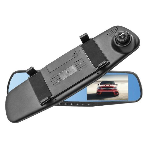 фото Зеркало заднего вида с видеорегистратором