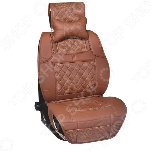 Набор чехлов для сидений SKYWAY «Люкс. Премиум-класс. Ромбы» авто прицепы к легковым автомобилям цена в самаре