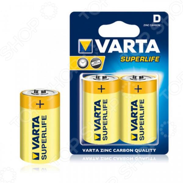 Комплект батареек VARTA SuperLife D