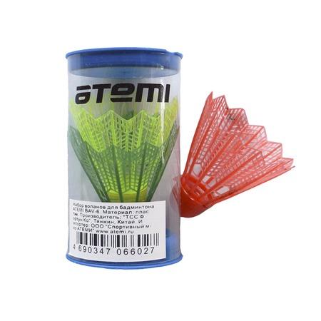 Купить Набор воланов для бадминтона Atemi BAV-6