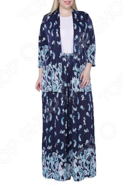 Костюм Kidonly «Желанная женщина». Цвет: бирюзовый