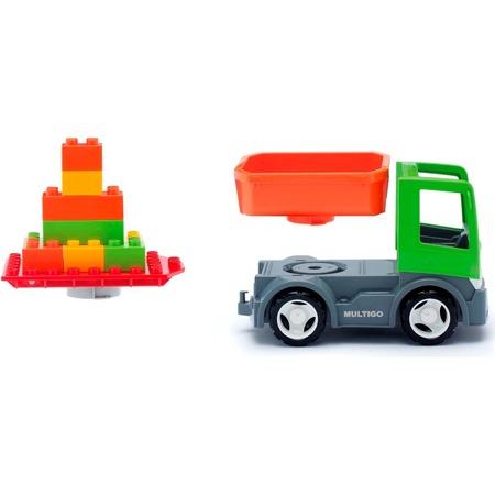 Купить Машинка игровая EFKO «Тягач со съемным кузовом»