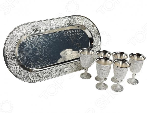 Набор бокалов MARQUIS «Фамильные драгоценности» Мария. 7 предметов набор бокалов на подносе marquis фамильные драгоценности маргарита 7 предметов