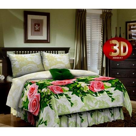 Купить Комплект постельного белья «Дикая роза». 2-спальный