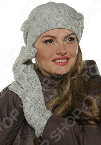 Комплект берет и перчатки AMOND STORY «Ла Рошет»