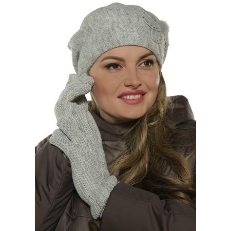 Купить Комплект берет и перчатки AMOND STORY «Ла Рошет»
