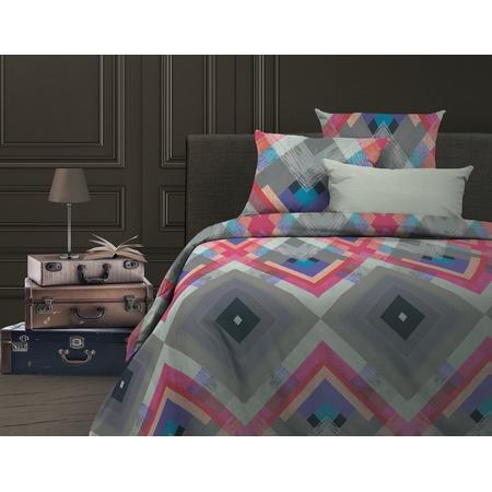 Купить Комплект постельного белья Wenge Avangard. 1,5-спальный. Цвет: розовый, голубой
