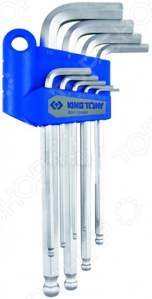 Набор Г-образных шестигранников Набор шестигранников King Tony KT-20110MR