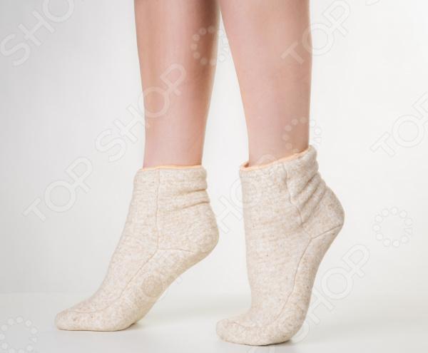 Носки меховые мужские «Живое тепло»