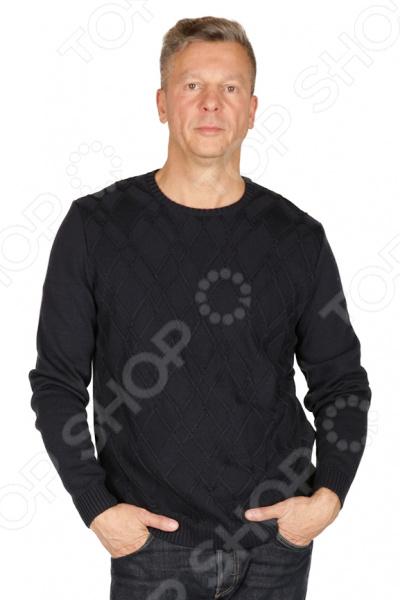 Джемпер VAY «Антуан». Цвет: темно-синий