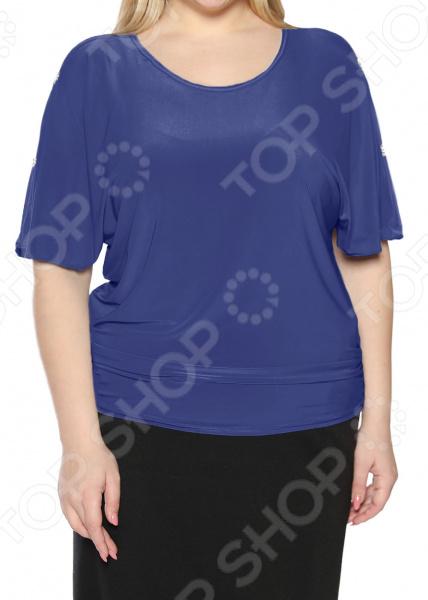 Блуза Pretty Woman «Фруктовый заряд». Цвет: васильковый