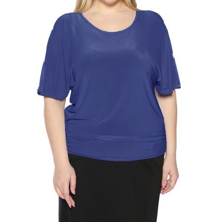 Купить Блуза Pretty Woman «Фруктовый заряд». Цвет: васильковый