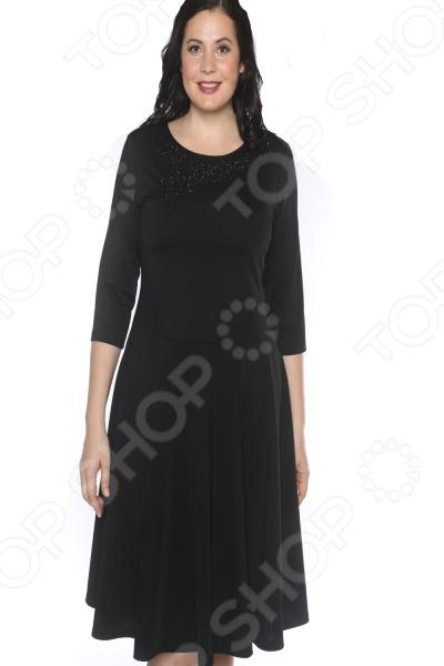 Платье Blagof «Сияние сердца». Цвет: черный