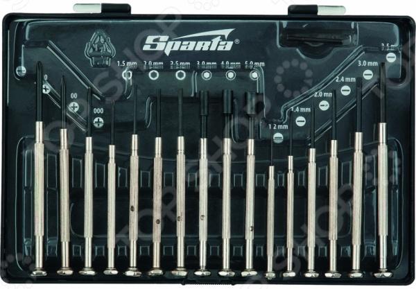 Набор отверток для точной механики SPARTA 11783  набор губцевого инструмента sparta 2 3 предмета