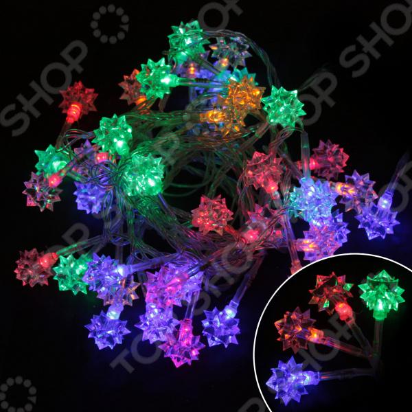 Электрогирлянда светодиодная «Алмазы» LED-DIAMOND-40-3-MC