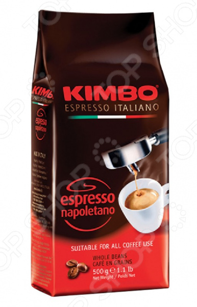 Кофе в зернах Kimbo Espresso Napoletano