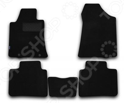 Комплект ковриков в салон автомобиля Novline-Autofamily Nissan Teana 2014 седан. Цвет: черный комплект ковриков в салон автомобиля novline autofamily mercedes benz gl class x164 2006 внедорожник цвет бежевый