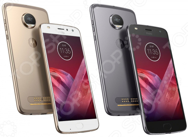 Смартфон Motorola Moto Z2 Play kit смартфон motorola moto z2 play xt1710 fine gold woodpanel asmcapchaheu 5 5 fullhd 1920х1080 qualcomm snapdragon 626 4gb 64gb dual sim sd lte