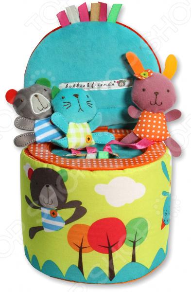 Игрушка развивающая Bobbie & Friends «Трое в коробке»