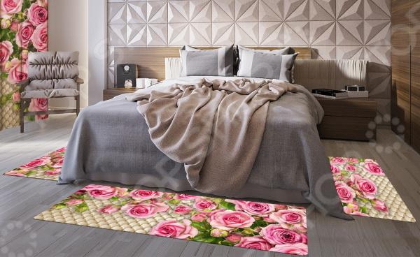 Zakazat.ru: Набор ковров «Розовый сад»