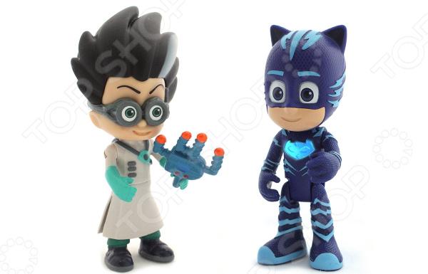 Набор фигурок игрушечных PJ Masks «Кэтбой и Ромео» 33285 игрушки для ванны pj masks игровой набор кэтбой и ромео