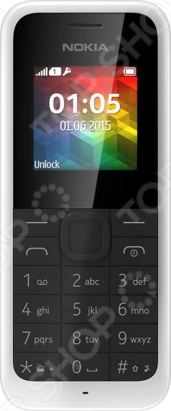 Мобильный телефон Nokia 105 мобильный телефон nokia 105 2017 white