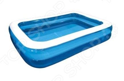 Бассейн надувной Jilong Giant Rectangular Pool 2-ring JL010291-1NPF бассейн надувной jilong barbapapa 2 ring цвет голубой 61 х 12 5 см
