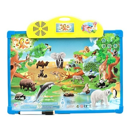 Купить Доска интерактивная обучающая Shantou Gepai «Зоопарк» 7172