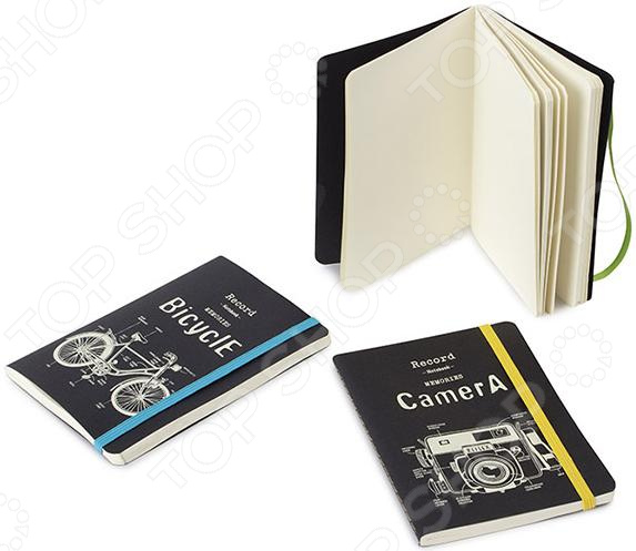 Записная книжка Balvi Retro Camera