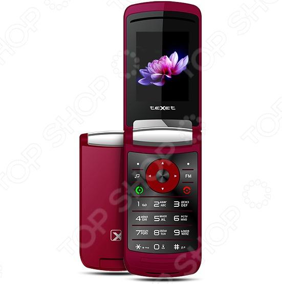 Фото Мобильный телефон-раскладушка Texet TM-402 тарифный план