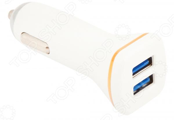 Устройство зарядное автомобильное Ldnio DL-219 2,1 А USB Apple 8 pin автомобильное зарядное устройство buro tj 201b 2 х usb 4 8 а черный