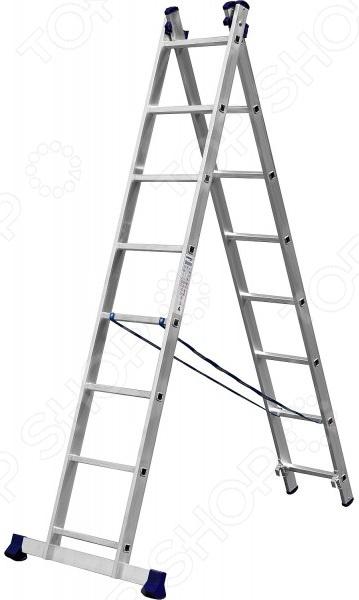 Лестница двухсекционная Сибин 38823 1