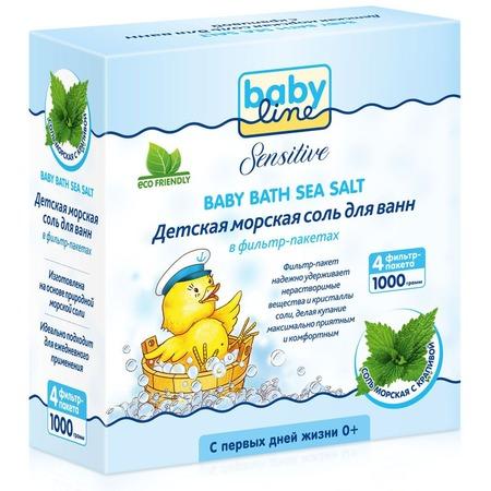 Купить Соль для ванны Babyline Sensitive с крапивой