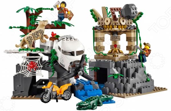Конструктор игровой LEGO City «База исследователей джунглей»