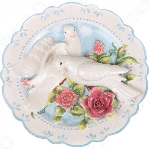 Тарелка декоративная Lefard «Два голубя» 59-313 тарелка декоративная lefard 59 565