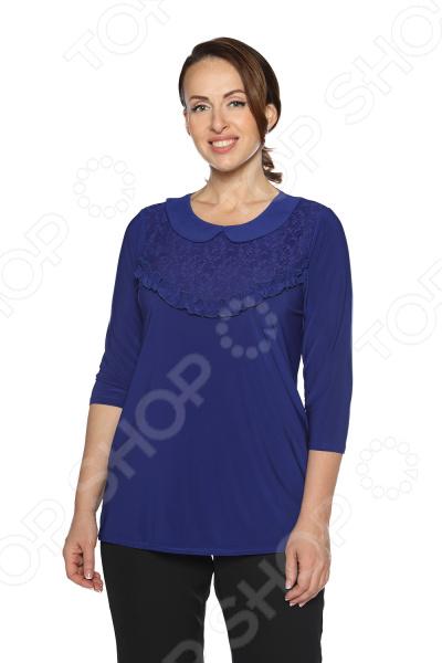Блуза Pretty Woman «Волшебный взгляд». Цвет: васильковый блуза pretty woman волшебный взгляд цвет зеленый