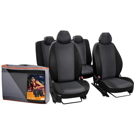 Купить Набор чехлов для сидений Airline Chevrolet Niva, 2014, «Лима»
