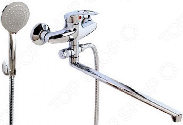 Смеситель для ванны и умывальника с плоским изливом Argo Olio 40-L40/D argo смеситель для умывальника echo d 40