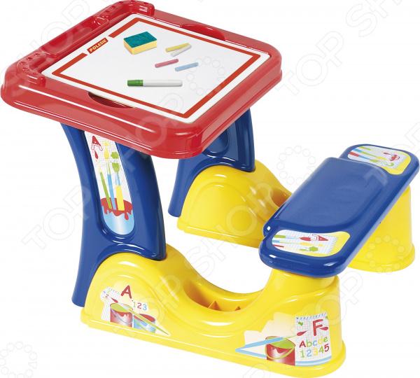 Парта со скамейкой и принадлежностями Palau Toys «Набор дошкольника» 1