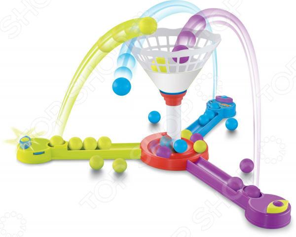 Игра настольная развивающая 1 Toy «Тройной баскетбол»