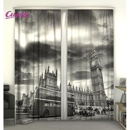 Купить Фотошторы Сирень «Движение Лондона»