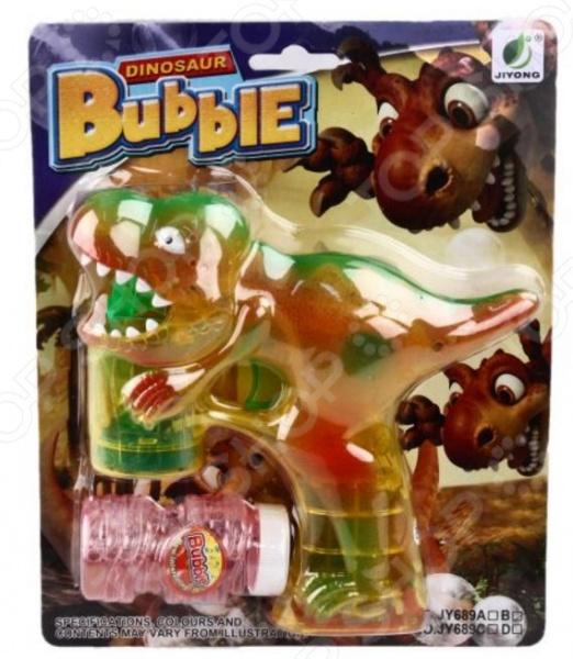 Набор для пускания мыльных пузырей Shantou Gepai «Динозаврик»