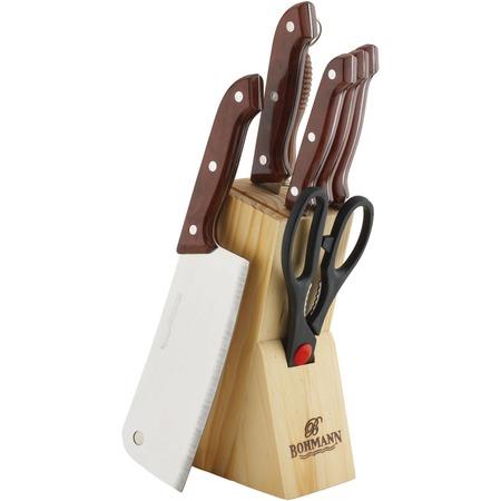 Купить Набор ножей Bohmann BH-5128 MRB