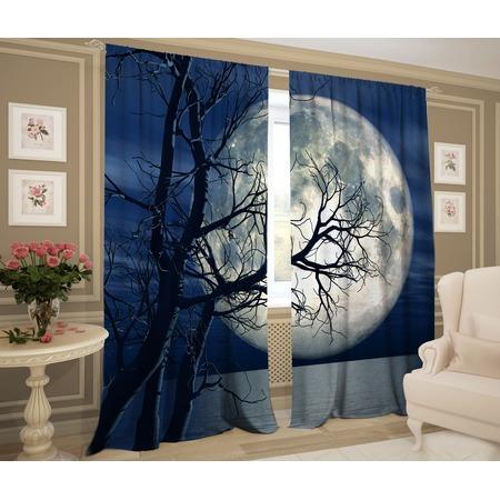 Купить Фотошторы ТамиТекс «Лунный восход»